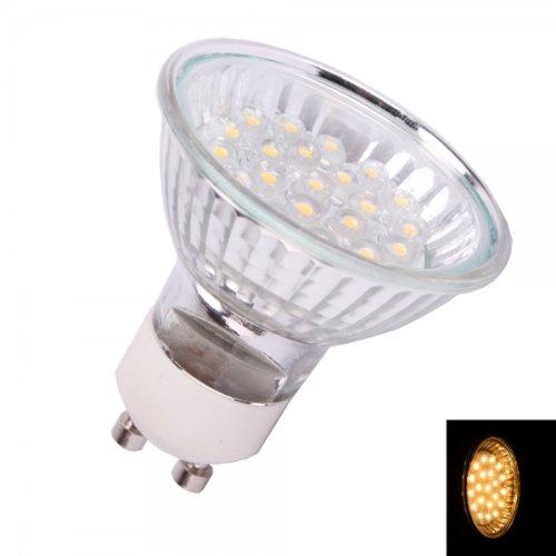 Usongs Gu10 1W 24Led 80Lumen 3000K Low-Power Warm White Light Led Spotlight Bulb (110V)