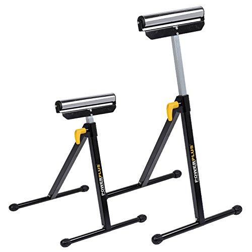 2-x-klappbare-Rollenbcke-Rollbock-Rollenbock-Werkbank-Materialstnder-hhenverstellbar-30cm-breit-max-60-kg-Last-POWX0700TBdl