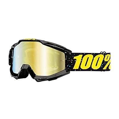 100% Accuri Goggles - Mirrored Lens-Skylar Black