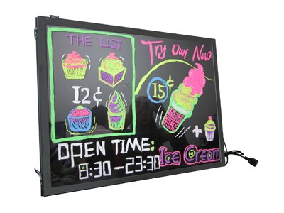 Attractive Moving Flashing Led Message Board Fluorescent Electronic Signs Pre...