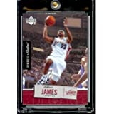 2005 06 Upper Deck Rookie Debut LeBron James Cleveland Cavaliers Basketball Card #15... by