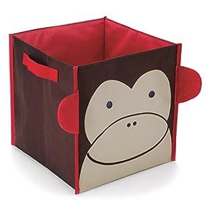 Skip Hop Zoo Monkey - Cubo de almacenamiento - BebeHogar.com