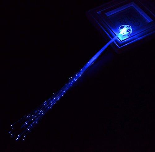 Sharing Star 12-pack Light-up Fiber Optic Led Hair Lights Hair Clip (14