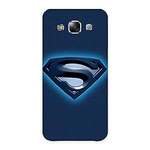 uper Blue Back Case Cover for Samsung Galaxy E5