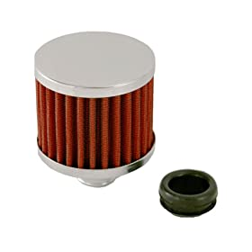 Spectre Performance 42852 Red High Performance Push-In Breather