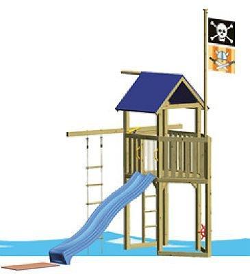 WINNETOO Pirat 2 Spielturm