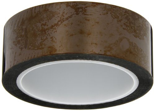 "Cs Hyde Kapton With Silicone Adhesive, 2 Mil Thick, Amber, 1.5"" Width X 36 Yard Roll"
