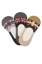 Klair Unisex Designer Premium Cotton Loafer Sock(Pack Of 3)
