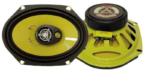 Pyle Plg68.3 6-Inch X 8-Inch 280 Watt Three-Way Speakers