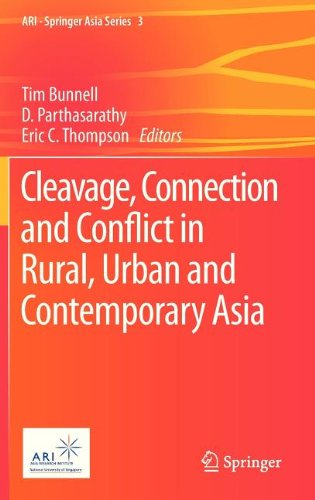 Cleavage, Connection and Conflict in Rural, Urban and Contemporary Asia (ARI - Springer Asia Series)