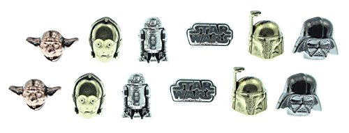 Star Wars Characters 6 Earring Set
