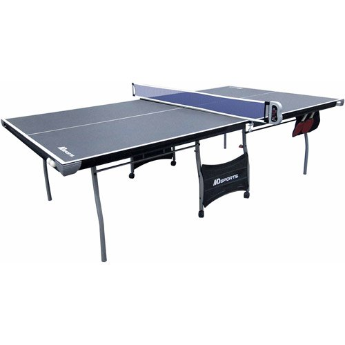 Best Review Of Medal Sports Indoor 4 Pc Table Tennis Table with Electronic Scorer