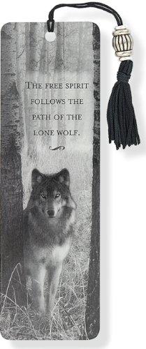 Beaded Bookmark Wolf