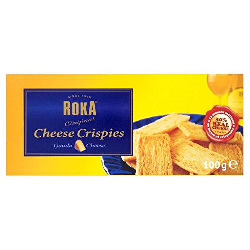 Roka Cheese Crispies 100g