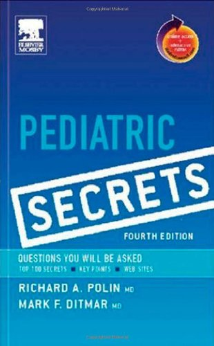 Pediatric Secrets: with STUDENT CONSULT Access (4th Edition)