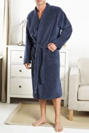 Thermal Fleece Dressing Gown [T07-6266-S]