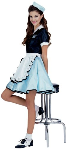 Costumes For All Occasions Ru15917 Car Hop Girl Costume Adult