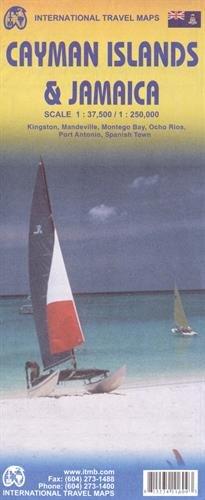 Jamaica & Cayman Islands : 1/250 000 (International Travel Maps)