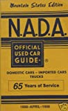 NADA Used Car Guide - Mountain States - April, 1998