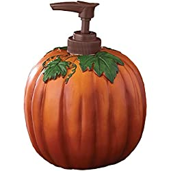 Great Halloween Autumn Pumpkin Soap Dispenser by Park Designs Use for Soap or Lotion