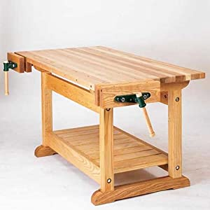 Traditional Workbench: Downloadable Woodworking Plan: Editors of WOOD ...