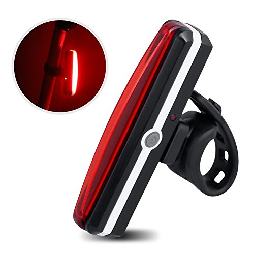 ZUOAO Luce Posteriore Bici Ricaricabile Tramite USB, Fanalino Posteriore ad