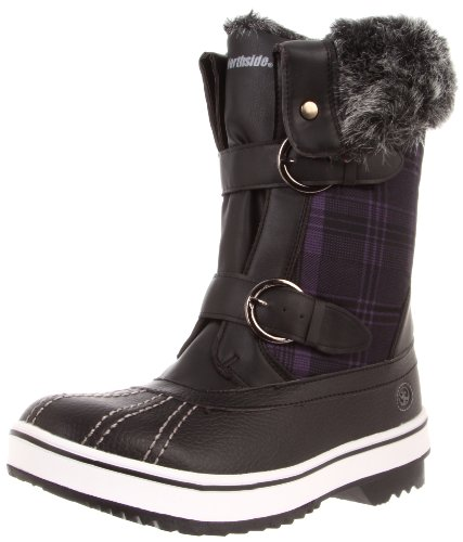 Northside Women's Hailey Snow Boot,Black,6 M US