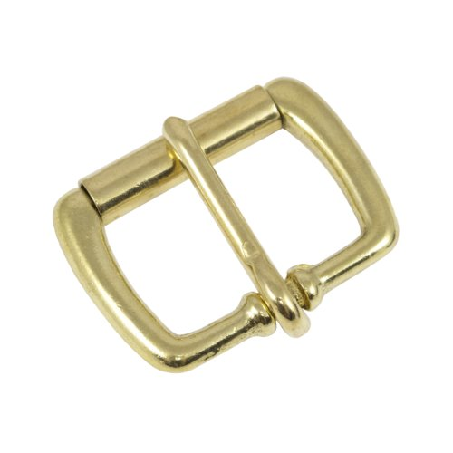 """Springfield Leather Company 1 1/4"""" Solid Brass Roller Buckle"""