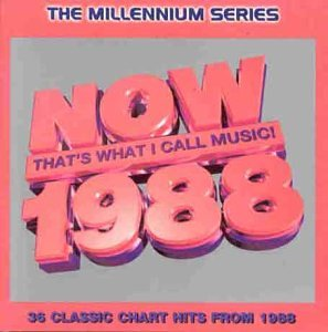 Now that 39 s what i call music 1988 millennium series for Songs from 1988 uk