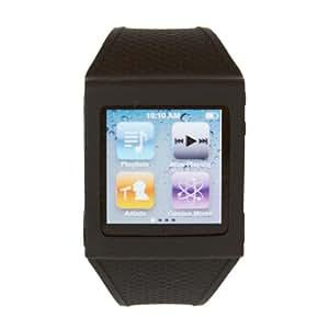 HEX HX1001-BLCK Watch Band for iPod Nano 6G - Black