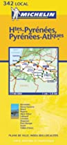Hautes Pyrenees/Pyrenees Atlantique (Michelin Local Maps)