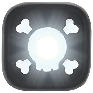 Amazon.com: Knog Blinder 1 Skull Front Light - Black W/white Led: Sports & Outdoors