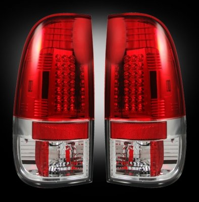Recon 264176Rd Led Tail Lights Ford Superduty 2008-2013