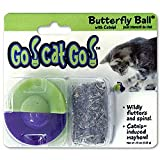 Go!Cat!Go! Butterfly Ball with Catnip Cat Toy