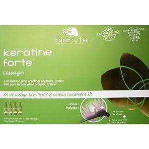 Biocyte Keratine Forte Kit de Lissage Brésilien