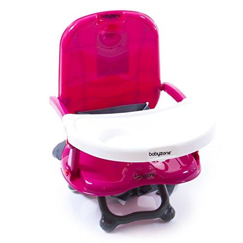 Alzasedia Colorato - seggiolino pappa compatto - BabyZone (rosa)