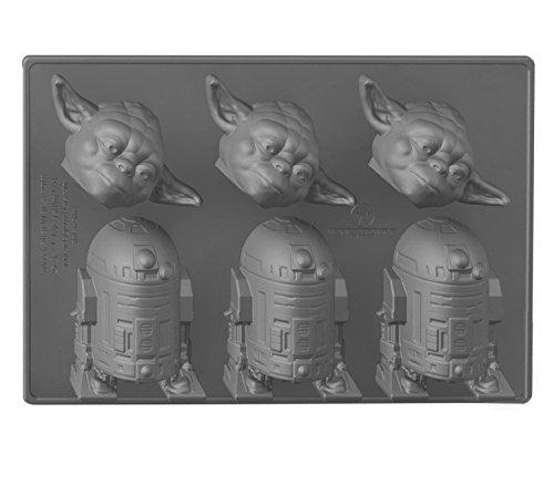 Star Wars Ice Cube Tray Yoda e R2 D2 Underground Toys