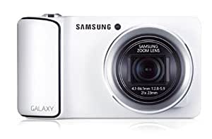 Factory Unlocked Samsung Galaxy Camera EK-GC100 8GB White, Android OS, v4.1 (Jelly Bean) 3G Unlocked HSDPA 850 / 900 / 1900 / 2100 (International Version - No Warranty)