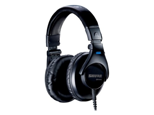 Brand New Shure | Srh440, High-Performance Exceptional Sound Reproducting Headphones, Optimized For Home And Studio Recording, Adjustable Headband And Collapsible Construction