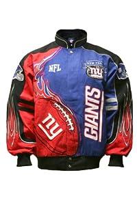 NFL New York Giants Mens Redzone Jacket by MTC Marketing