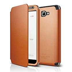 elago G4 Handmade Genuine Leather for at&t, International Galaxy Note - Folder type
