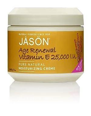 JASON Age Renewal Vitamin E Crème 25,000 IU, 4 Ounce