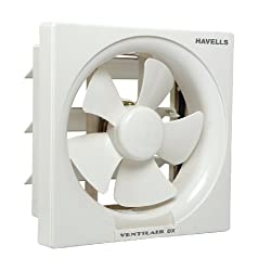 Havells FHVVEDXOWH08 Ventil Air Dx 32-Watt 200mm Fan (White)