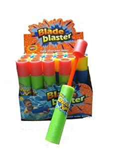 24 Party Pack - Blade Blaster Mini Eliminator Foam Water Gun Easy Light Weight Water Shooter from ifavor123