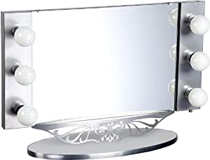Starlet Lighted Vanity Mirror Reviews : Amazon.com - Starlet Table Top Lighted Vanity Mirror 34