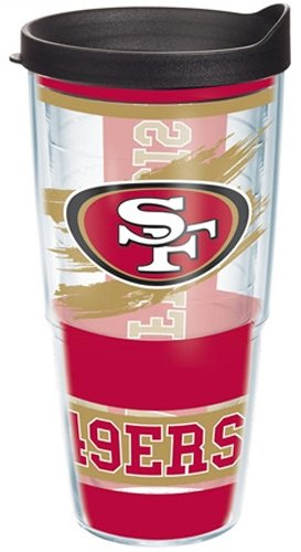 Wrap NFL Sf 49Ers Lblk 24-Ounce Each at Amazon.com