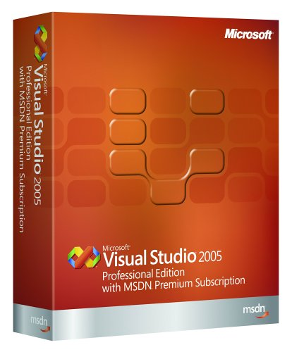 Microsoft Visual Studio Professional w/ MSDN Premium 2005 [OLD VERSION]