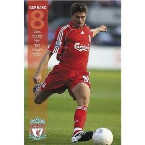 Liverpool Steven Gerrard Poster