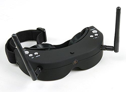 HobbyKing Skyzone FPV Goggles 5.8GHz Div 40CH Raceband RX including H/Tracker (V2)