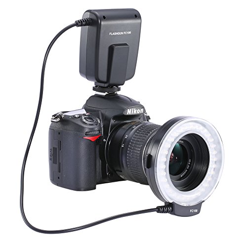 Neewer-FC100-32-Super-Bright-LED-Macro-Ring-Flash-For-Canon-NikonOlympus-Pentax-SLR-Cameras-Will-Fit-52-55-58-62-67-72-77mm-Lenses-Canon-Digital-EOS-Rebel-T1i-500D-T2i-550D-XSI-450DXTI-400D-XT-350D-60